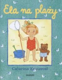Ela na plaży - okładka książki