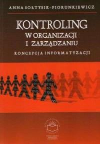 Kontroling w organizacji i zarządzaniu - okładka książki