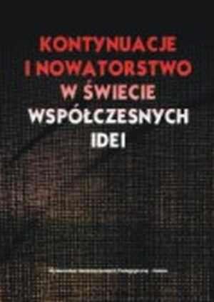 Kontynuacje i nowatorstwo w świecie - okładka książki