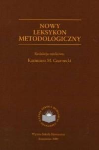 Nowy leksykon metodologiczny - - okładka książki