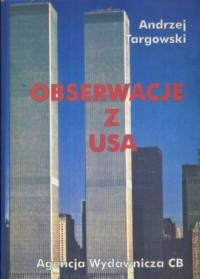 Obserwacje z USA - okładka książki