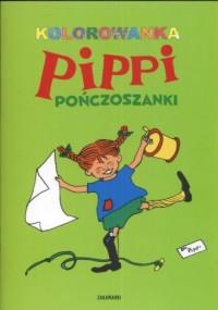 Pippi Pończoszanka. Kolorowanka - okładka książki
