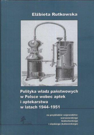 Polityka władz państwowych w Polsce - okładka książki