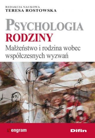 Psychologia rodziny. Małżeństwo - okładka książki
