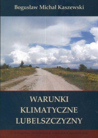 Warunki klimatyczne Lubelszczyzny - okładka książki