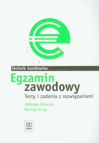 Egzamin zawodowy. Technik handlowiec. - okładka podręcznika