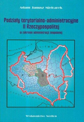 Podziały terytorialno-administracyjne - okładka książki