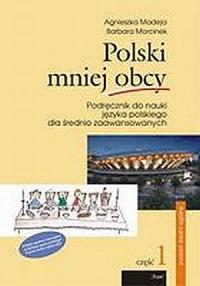 Polski mniej obcy. Podręcznik do - okładka podręcznika