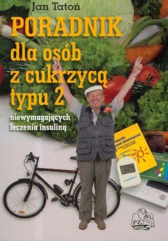 Poradnik dla osób z cukrzyca typu - okładka książki