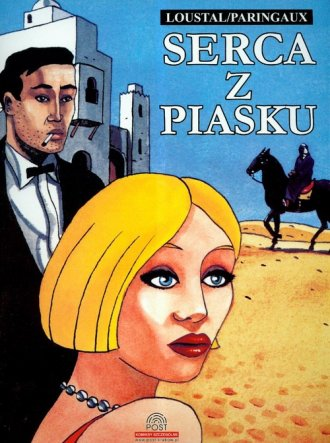 Serca z piasku - okładka książki