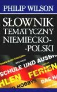 Słownik tematyczny niemiecko-polski - okładka podręcznika
