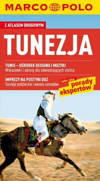 Tunezja. Przewodnik Marco Polo - okładka książki