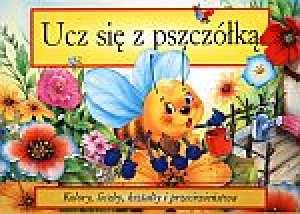 Ucz się z pszczółką. Kolory, liczby, - okładka książki
