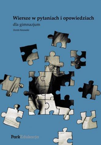 Wiersze w pytaniach i odpowiedziach - okładka podręcznika
