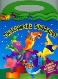 Zwariowane dinozaury. Liczenie na wesoło! - okładka książki