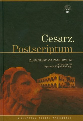 Cesarz. Postscriptum (+ CD mp3) - pudełko audiobooku