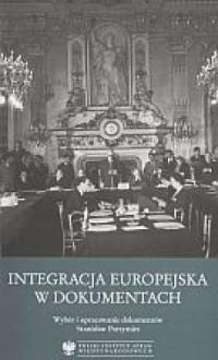 Integracja europejska w dokumentach - okładka książki