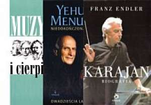 Niedokończona podróż / Karajan - okładka książki
