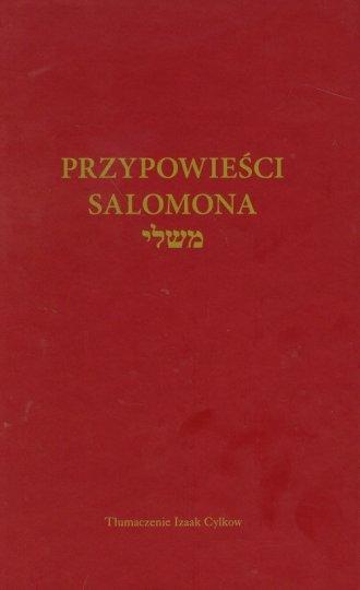 Przypowieści Salomona - okładka książki