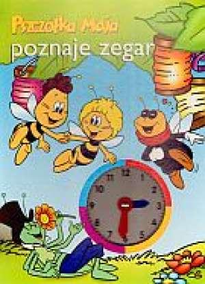 Pszczółka Maja poznaje zegar - okładka książki