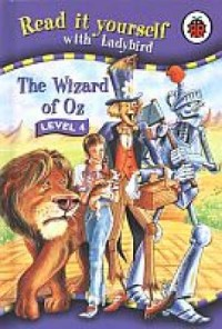 Read it Yourself: The Wizard of Oz - okładka książki