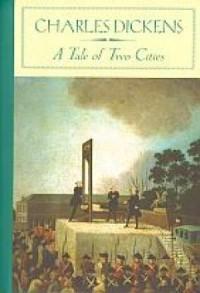 A Tale of Two Cities - okładka książki