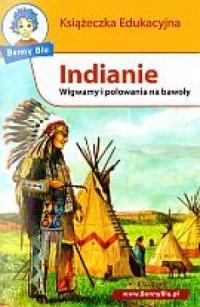 Indianie. Książeczka edukacyjna - okładka książki