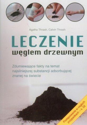 Leczenie węglem drzewnym - okładka książki