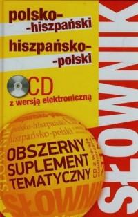 Słownik polsko-hiszpański, hiszpańsko-polski - okładka książki