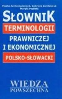 Słownik terminologii prawniczej - okładka książki