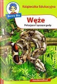 Węże. Książeczka edukacyjna - okładka książki