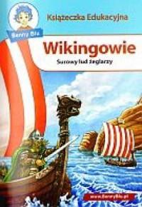 Wikingowie. Książeczka edukacyjna - okładka książki