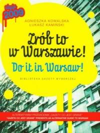 Zrób to w Warszawie (wersja pol./ang.) - okładka książki