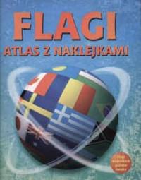 Flagi - Atlas z naklejkami - okładka książki