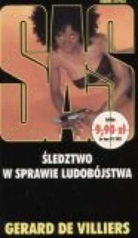 Śledztwo w sprawie ludobójstwa SAS13 - okładka książki