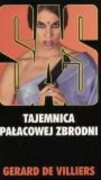 Tajemnica pałacowej zbrodni SAS 7 - okładka książki