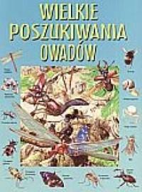 Wielkie poszukiwania owadów - okładka książki