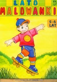 Malowanki. Lato. 5-6 lat - okładka książki
