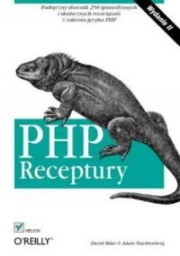 PHP. Receptury - okładka książki