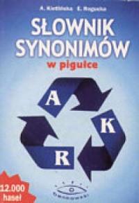 Słownik synonimów w pigułce - okładka książki