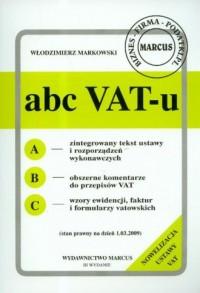Abc VAT-u 1.03.2009 - okładka książki