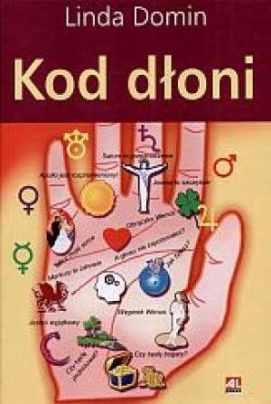 Kod dłoni - okładka książki