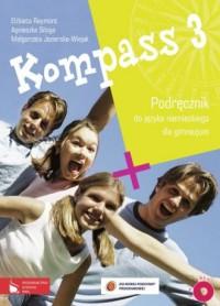 Kompass 3. Język niemiecki. Gimnazjum. - okładka podręcznika