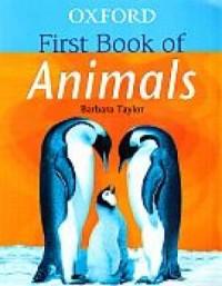 Oxford First Book Of Animals - okładka książki