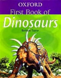 Oxford First Book Of Dinosaurs - okładka książki
