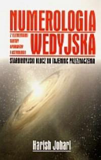 Numerologia Wedyjska - okładka książki