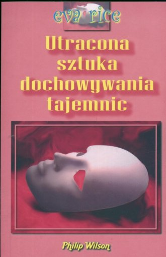 Utracona sztuka dochowywania tajemnic - okładka książki