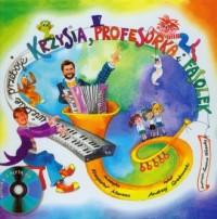 Wielkie przeboje Krzysia, Profesorka i Fasolek (+ CD) - okładka książki