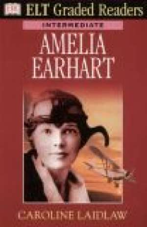 Amelia Earhart - okładka książki