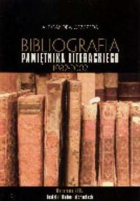 Bibliografia pamiętnika literackiego - okładka książki